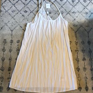 BDG white striped tank dress
